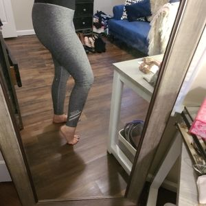 Gray heathered leggings SOLD